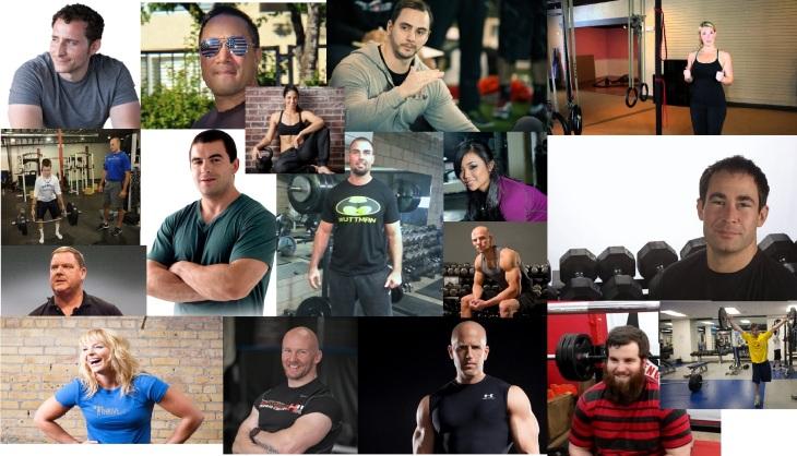 trainer collage
